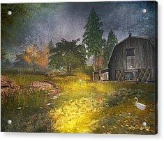 Glanduin Farm - By Kylie Sabra Acrylic Print