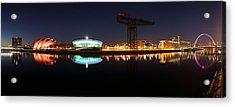 Glasgow Clyde Panorama Acrylic Print