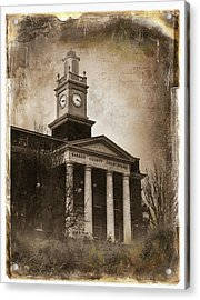 Glasgow Ky Courthouse Acrylic Print