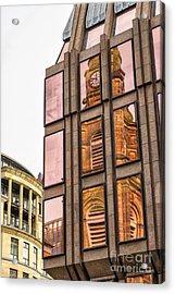 Glasgow St Georges Tron Parish Church Acrylic Print by Antony McAulay