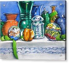 Glass And Tassel Acrylic Print