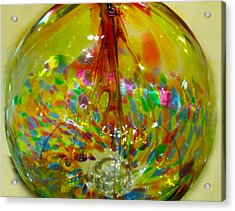 Glass Balloon Acrylic Print by ARTography by Pamela Smale Williams