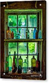 Glass Bottles Acrylic Print