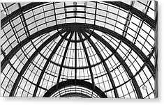 Acrylic Print featuring the photograph Glass Dome by Corinne Rhode