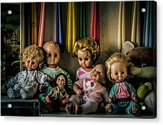 Acrylic Print featuring the photograph Glassy Eyed Menagerie by Odd Jeppesen