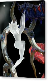 Glass Fairy Acrylic Print