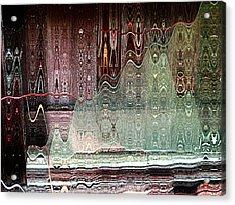 Glass House Acrylic Print by Shirley Sirois