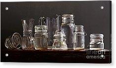 Glass Acrylic Print by Larry Preston