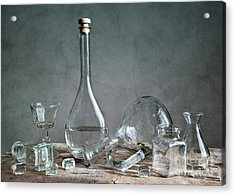 Glass Acrylic Print by Nailia Schwarz