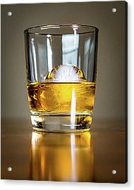 Glass Of Whisky Acrylic Print