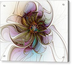 Glass Petals Acrylic Print