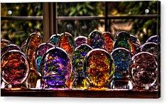 Glass Symphony Acrylic Print by David Patterson