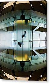 Glass Walkway Apple Store Stockton Street San Francisco Acrylic Print
