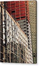 Glass Windows Acrylic Print by Gillis Cone