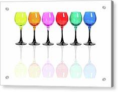 Glasses #2085 Acrylic Print