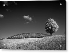 Glasshouse At The National Botanic Gardens, Wales Acrylic Print