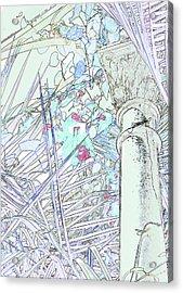Acrylic Print featuring the photograph Glasshouse Jungle by Nareeta Martin
