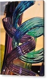 Glassworks 2 Acrylic Print by Marty Koch