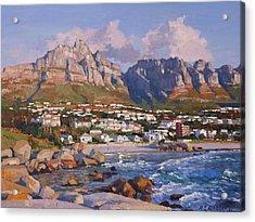 Glen Beach, Cape Town Acrylic Print