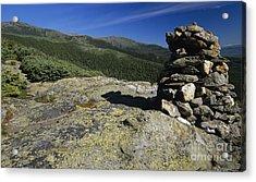 Glen Boulder Trail - White Mountains New Hampshire Usa Acrylic Print by Erin Paul Donovan