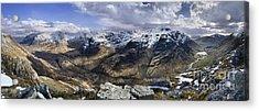 Glencoe - Scotland Acrylic Print by Rod McLean