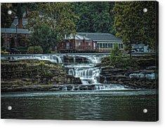 Glen Farris On The Falls Acrylic Print