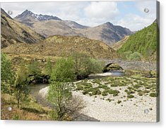 Glen Shiel - Scotland Acrylic Print