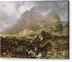 Glencoe Acrylic Print by Horatio McCulloch