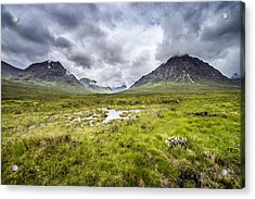 Acrylic Print featuring the photograph Glencoe by Jeremy Lavender Photography