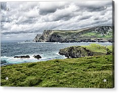 Glencolmcille Acrylic Print by Alan Toepfer