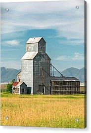 Glengarry Grain Elevator Acrylic Print by Todd Klassy