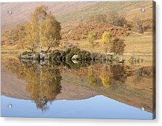 Glengarry Reflection Acrylic Print
