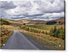 Acrylic Print featuring the photograph Glensherup Reservoir by Jeremy Lavender Photography