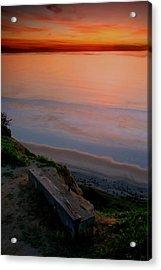 Gliderport Sunset 2 Acrylic Print