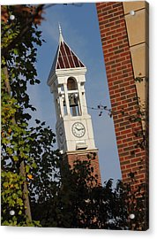 Glimpse Of The Bell Tower Acrylic Print