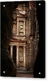 Glimpse Of Treasury Acrylic Print by David Lazar