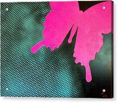 Glitter Acrylic Print by Trenton Heckman
