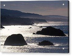 Glittering Sea Acrylic Print by Soli Deo Gloria Wilderness And Wildlife Photography