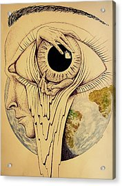 Global Vision Of The Situation Acrylic Print by Paulo Zerbato