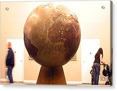Globed  Acrylic Print by Jez C Self