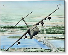 Globemaster Acrylic Print by Lane Owen