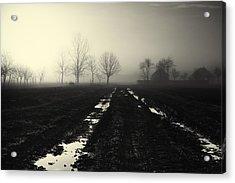 Gloomily Morning Acrylic Print