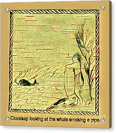 Glooscap Watching The Smoking Whale Acrylic Print