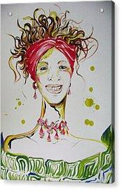 Gloria De Mi Vida Acrylic Print by David Alvarado