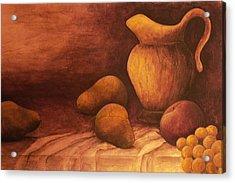 Gloria Acrylic Print by Sandy Clift