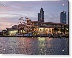 Gloria Visiting Tampa Acrylic Print