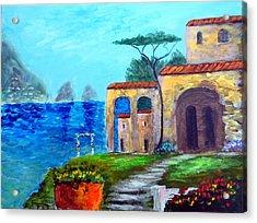 Glorious  Capri Acrylic Print by Larry Cirigliano