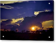 Acrylic Print featuring the photograph Glorious Days End by Jan Amiss Photography