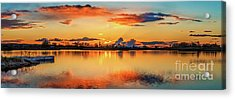 Acrylic Print featuring the photograph Glorious Evening by Robert Bales