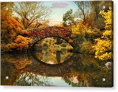 Acrylic Print featuring the photograph Glorious Gapstow   by Jessica Jenney